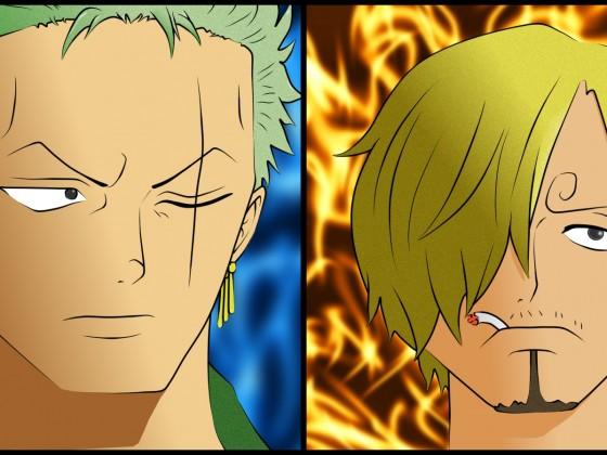 Zoro und Sanji