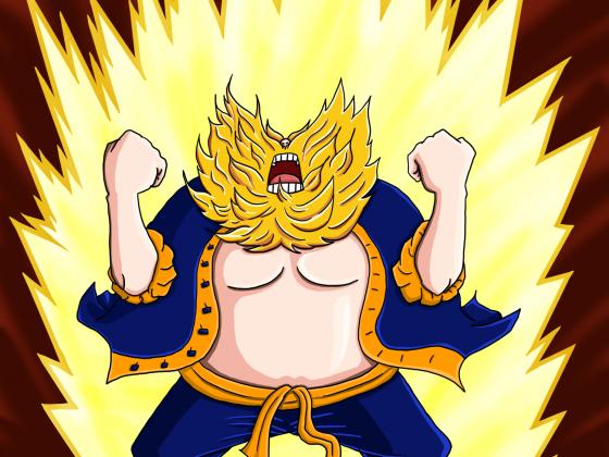 Super Bart-Saiyan Chinjao