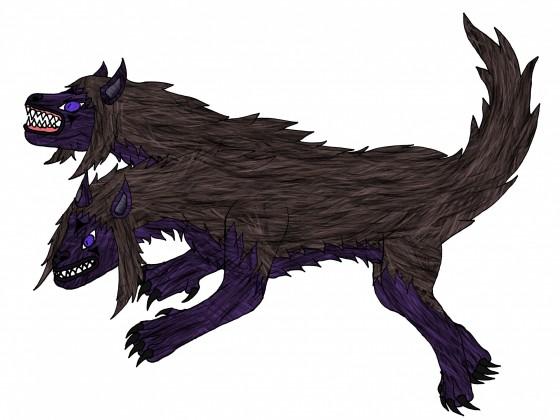 Sakuya Wolf-Tierform (2 Köpfig)