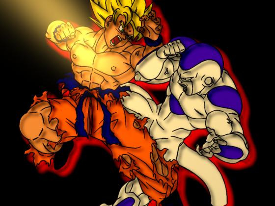 Goku vs Freezer ( Freezer FTW!)