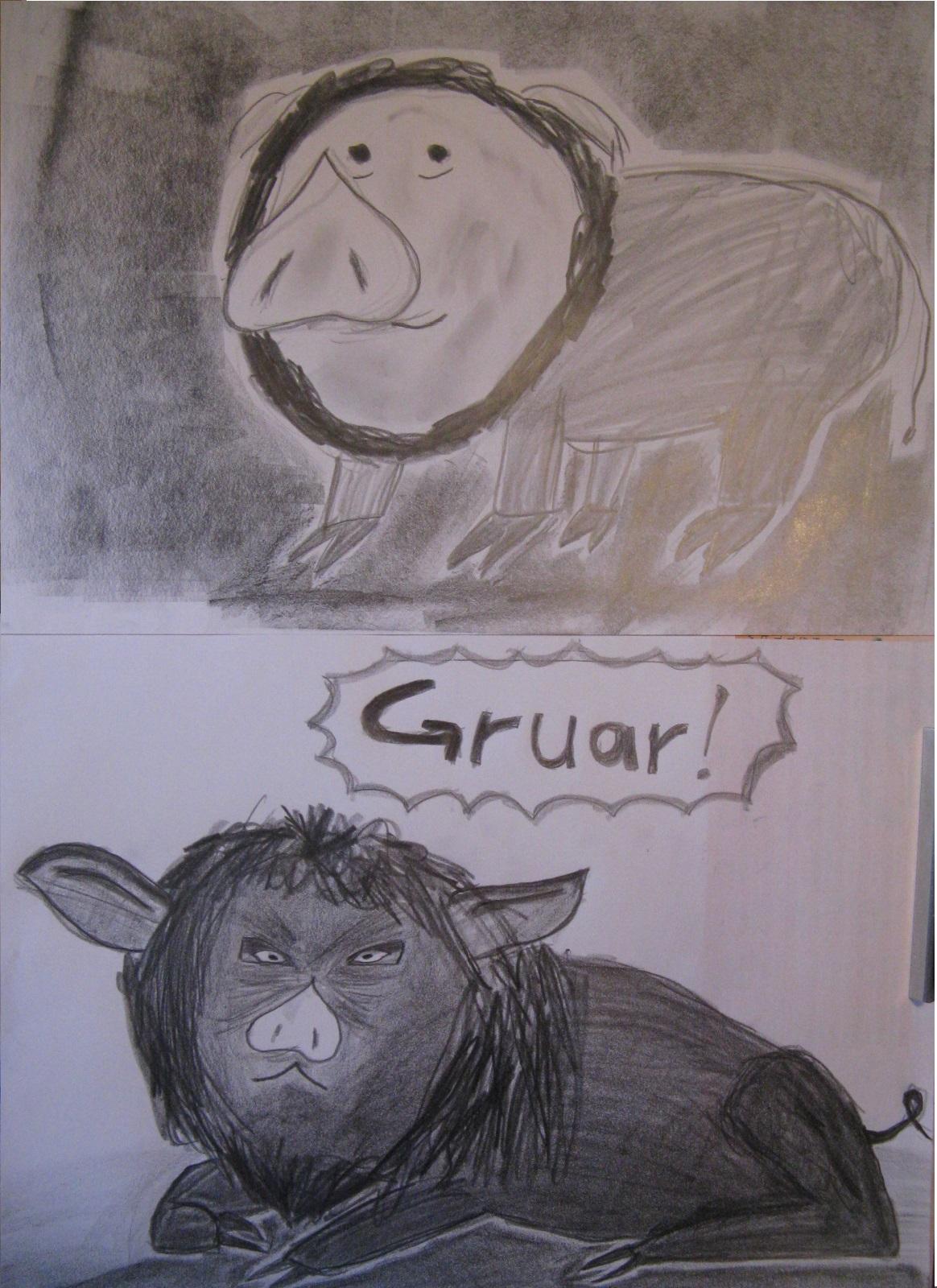 Löwen-Schwein