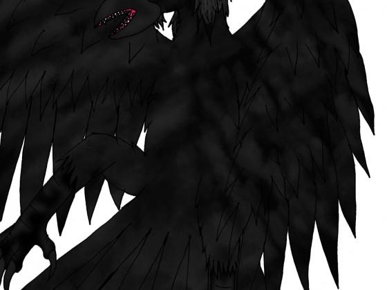 Corvus' Yatagarasu-Tierform (ohne 3. Bein)