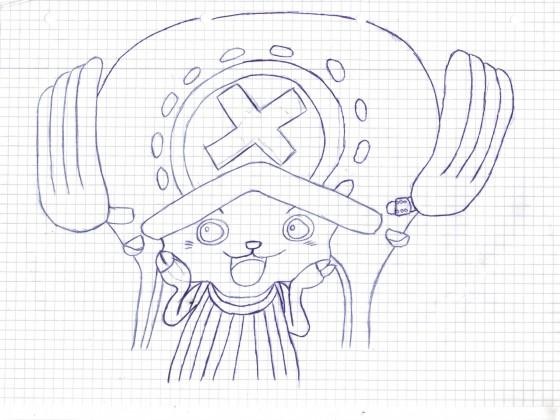 [Zeichnung] Timeskip Tony Chopper