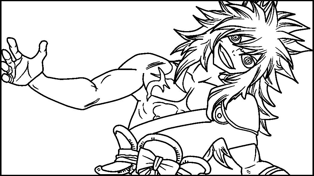 [Lineart] Zancrow Panel Three