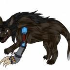 Clawslash Warge-Tierform