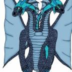 Mamba Azi Dahaka-Tierform (2-Köpfig)