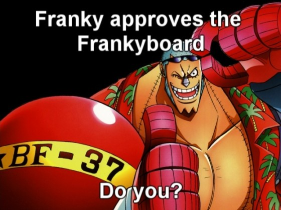 Franky approves!