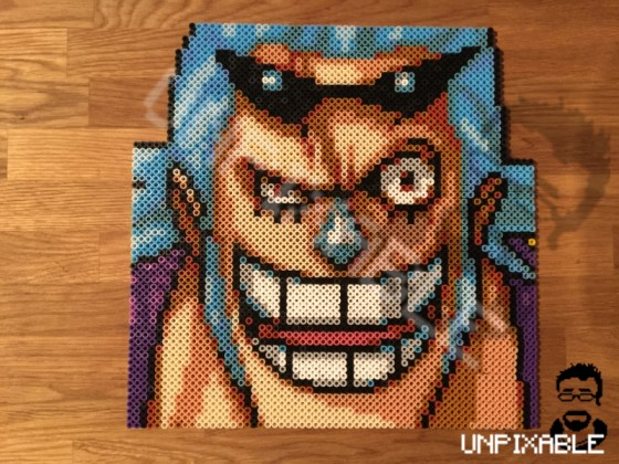 One Piece Pixel Art #008 Franky