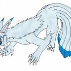 Moonmane 7-Schweifige-Tierform