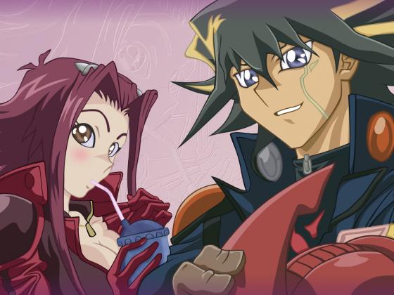 Akiza und der Typ