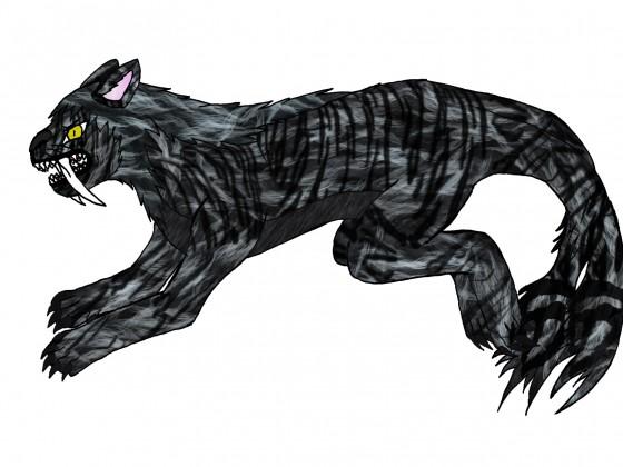 Talon Nekomata-Tierform