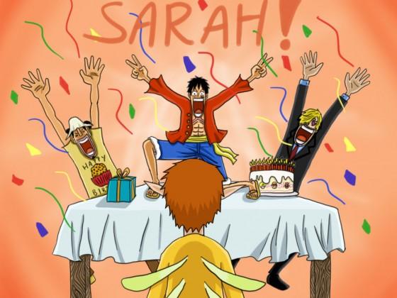 Alles Gute Sarah!