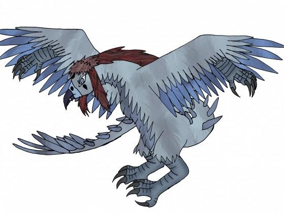 Ingrem Behemoth-Tierform (vogelartig)