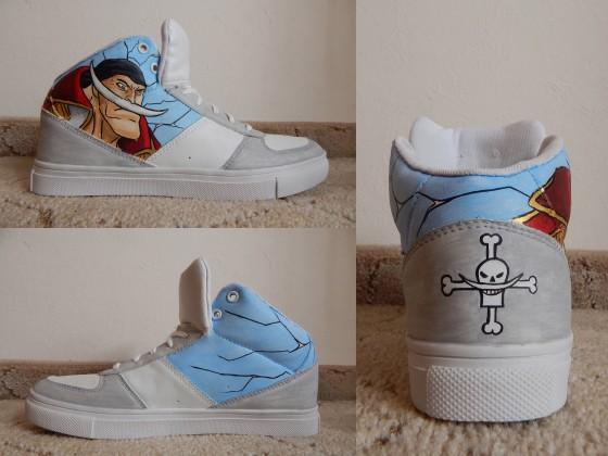 One Piece Schuhe: Whitebeard!
