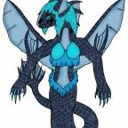 Mamba Meeressirene-Tierform (modell: Todesviper)