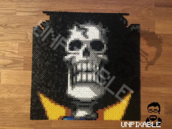 One Piece Pixel Art #009 Brook