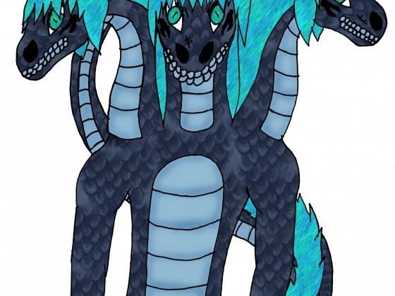 Mamba Naga-Tierform (3-Köpfig)