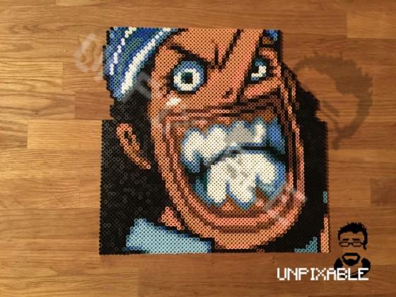 One Piece Pixel Art #004 Lysop