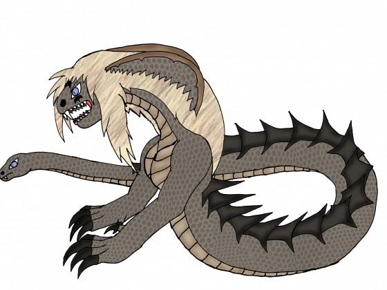Stinger Naga-Tierform (schweif ist 2. Kopf)