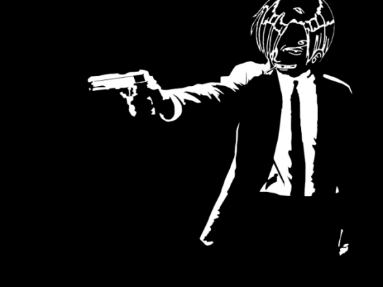 Sanji x Pulp Fiction