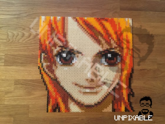 One Piece Pixel Art #003 Nami