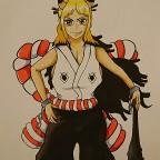 One Piece Yamato Fanart