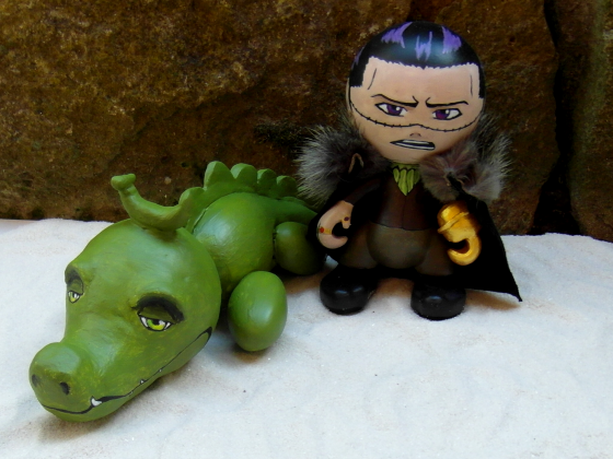 Zwei Krokodile...