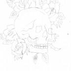 [Zeichnung] Roseskull