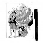 Luffy, Chopper & Pekoms