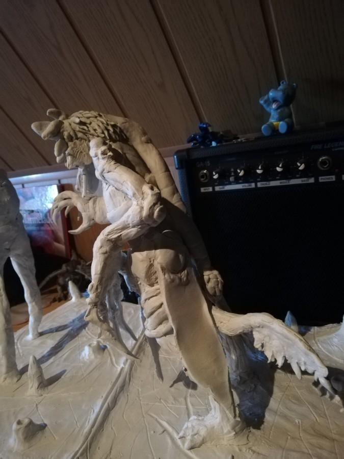 Clawslash Warge-Tiermenschenform (hinteransicht)