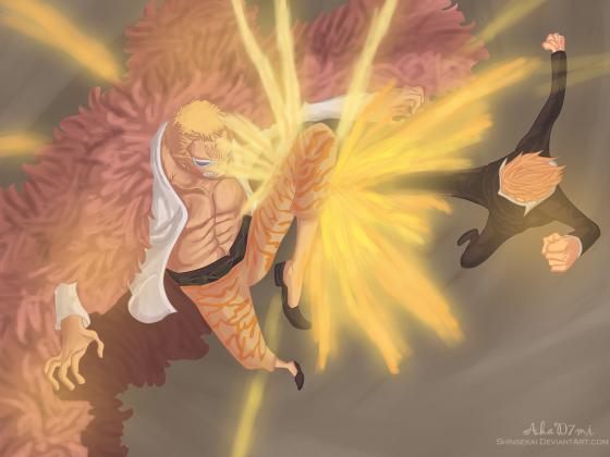Black Leg vs. Heavenly Demon ~~ !!
