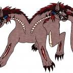 Makani Orthrus-Tierform (3 Äugig)