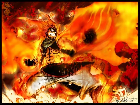 Natsu, fist of Fairy Tale