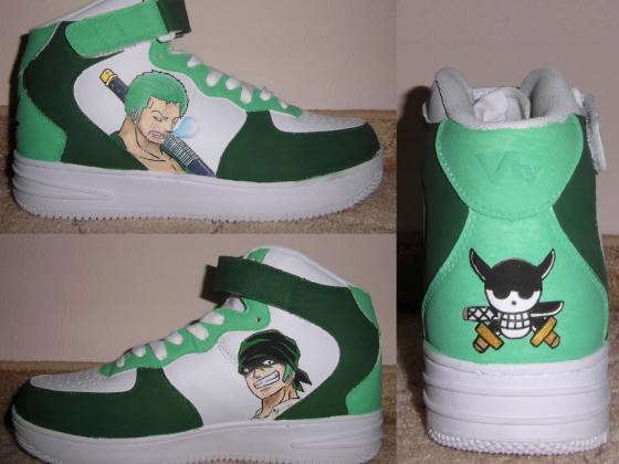 One Piece Schuhe #3: Zorro