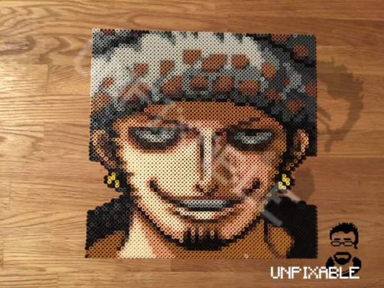 One Piece Pixel Art #011 Trafalgar Law