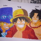 Ace sabo ruffy