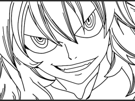 [Lineart] Zancrow Panel One