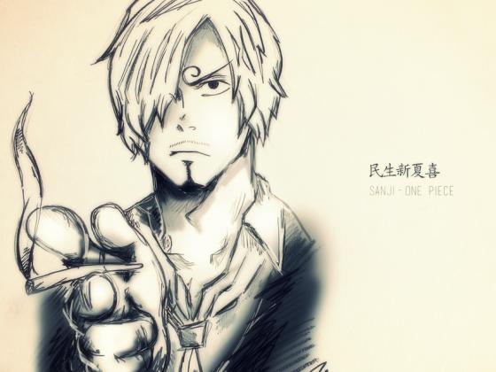 Sanji drawing