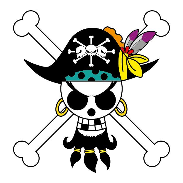 Blackbeards Jolly Roger