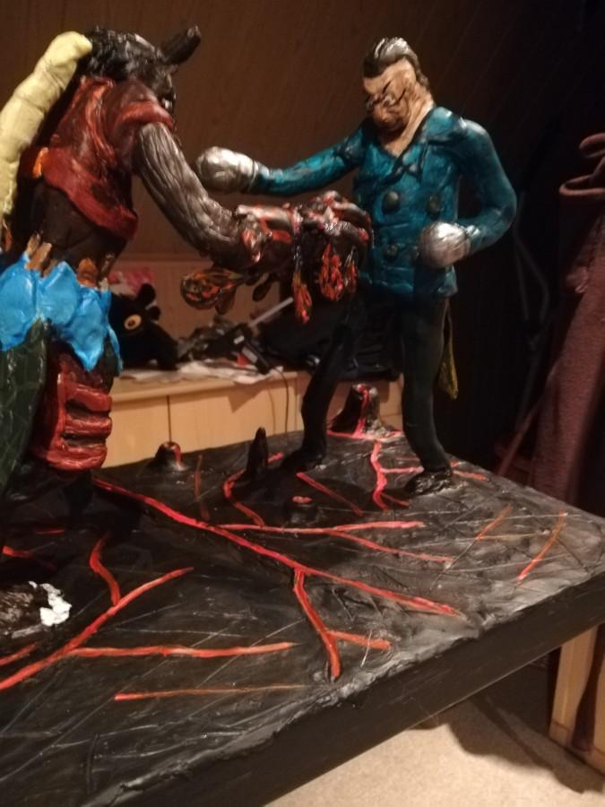 Clawslash gegen den Mann mit den Eisenfäusten (Ansicht 3)