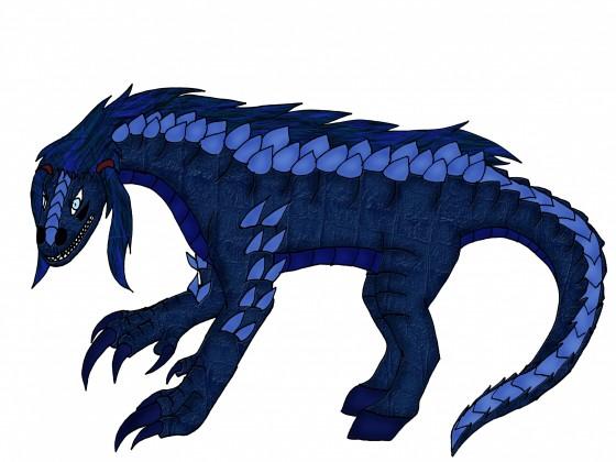 Kyōjin Behemoth-Tierform (bestienartig)