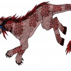 Makani Leucrotta-Tierform (Hyänenartig)