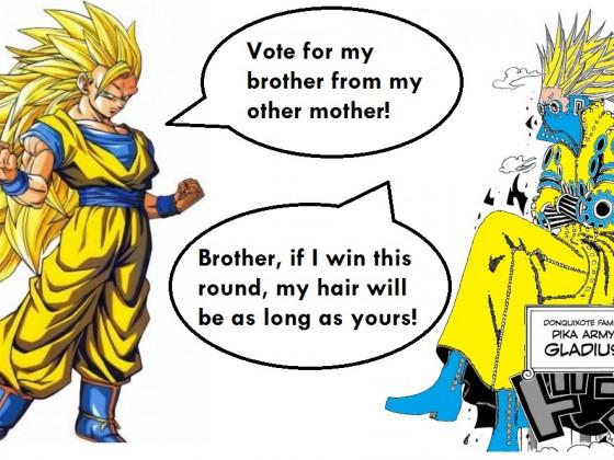 Die Gebrüder Son Goku und Gladius