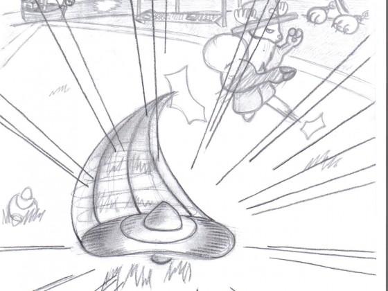 Chopper beim Davy Back Fight (fiktiv)