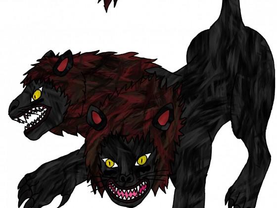 Berserker Löwe-Tierform (2 Köpfig)
