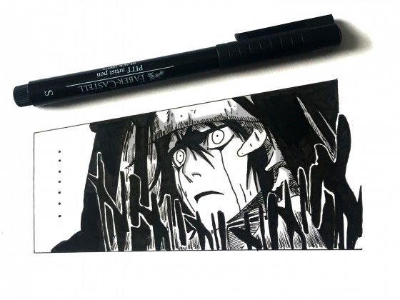 Ulquiorra drawing