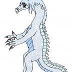 Keena Wyvern-Tierform (flügellos)