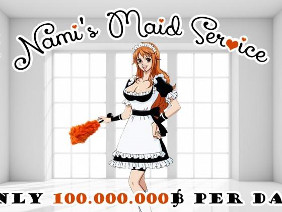 Nami's Maid Service
