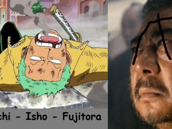 Zatoichi macht Sanji und Zorro fertig