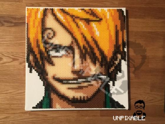 One Piece Pixel Art #005 Sanji